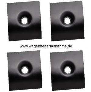 W126 Wagenheberaufnahmen (Set 4 Stück)